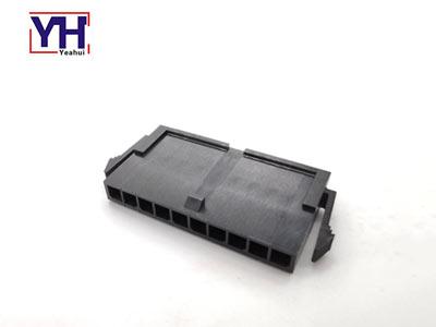 436401011 3.0mm pitch Molex housing waterproof single row 10 pin male connector