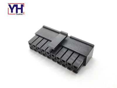 430252000 3.0mm pitch Molex housing waterproof dual row 20 pin male connector