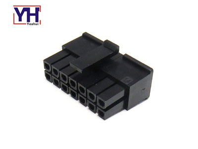 Micro-Fit Connector dual row 3.0mm pitch 14 pin molex housing 43025-1410
