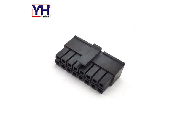 3.0mm pitch molex housing 43025-1810 18 pin female connector