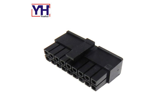 Micro-Fit Connector  dual row 3.0mm pitch 14 pin molex housing 43025-1800
