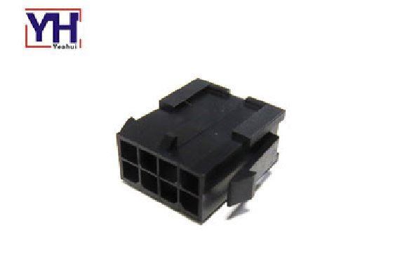 single row 3.0mm pitch housing male Dual Row 8 pin connector molex 430200800
