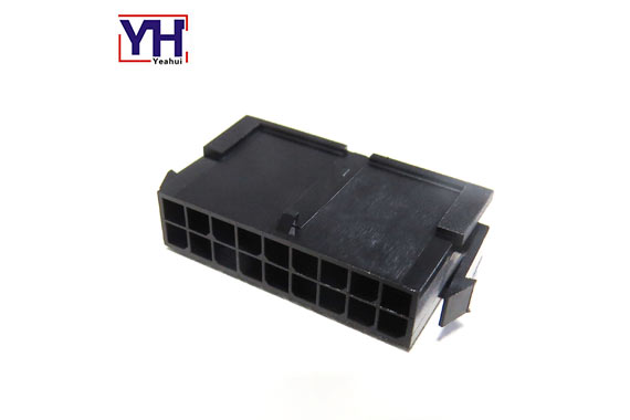 single row 3.0mm pitch housing male Dual Row 18 pin connector molex 430201800