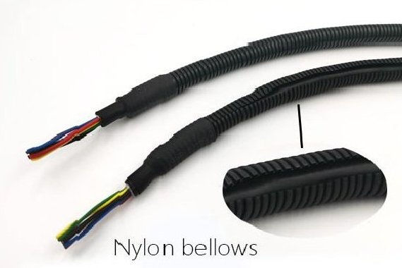 Application of nylon bellows