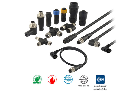 A Customized M12 Connector Cable Manufacturer from China